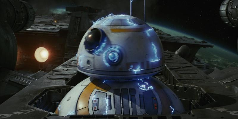 Electrocuted BB8 - The Last Jedi