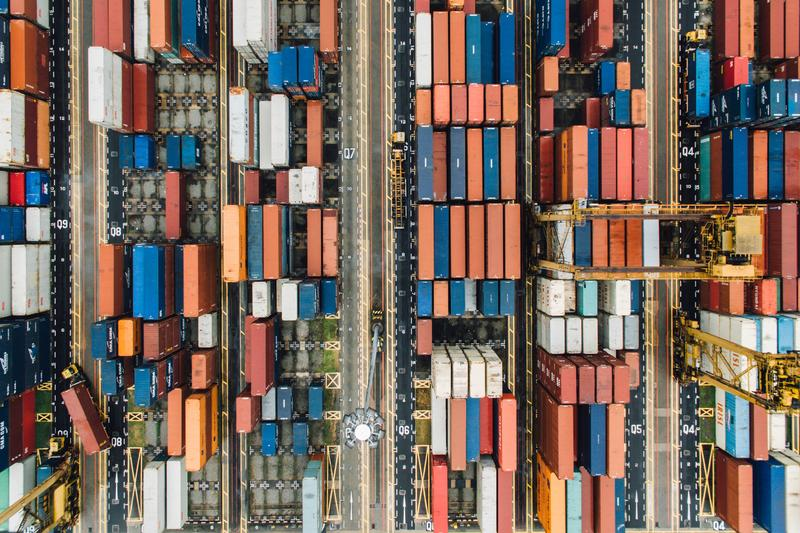 Top View - Containers