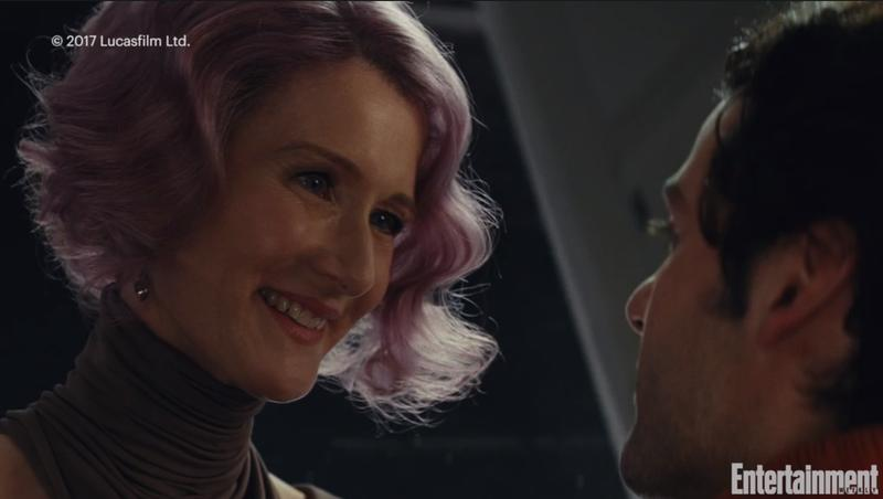 Admiral Holdo With Poe Dameron