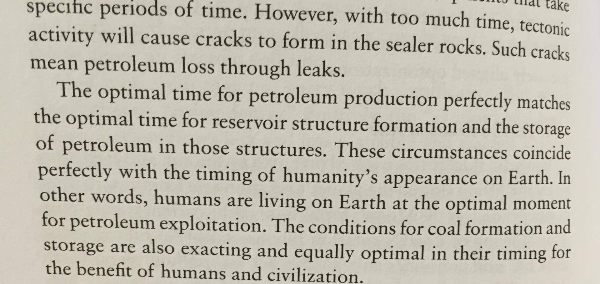 Optimal Time for petroleum