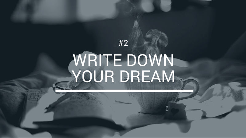 write-down-your-dream
