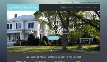 Braselton Stover House Joomla Website Screenshot