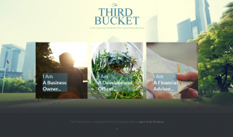 The Third Bucket Joomla Website Design Screenshot