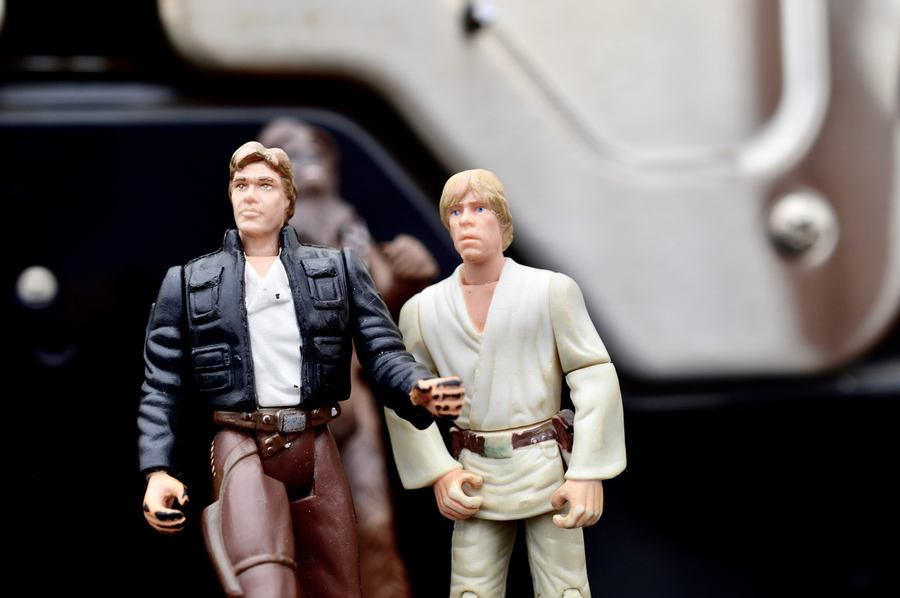 Han Solo & Luke Skywalker
