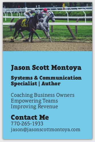 Jason Montoya - Systems & Communication Specialist
