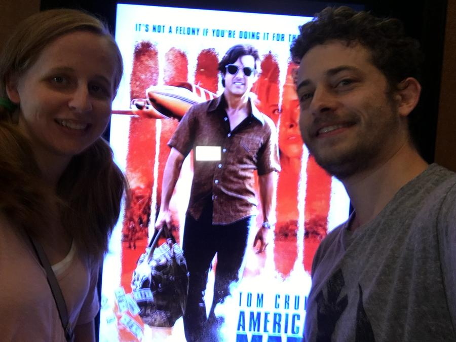 American Made Movie Poster - Jason Montoya With Cait
