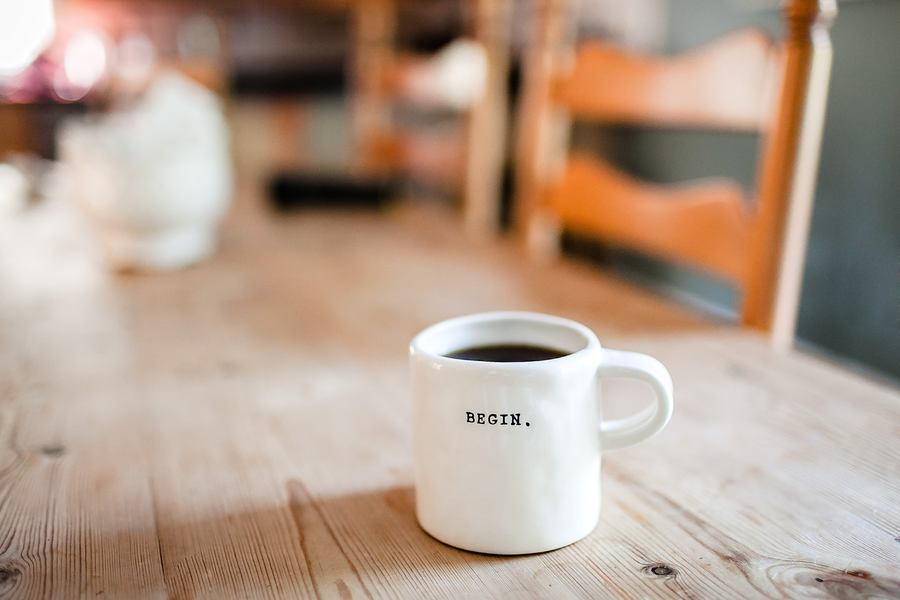 Begin Mug - Setup Successful Business