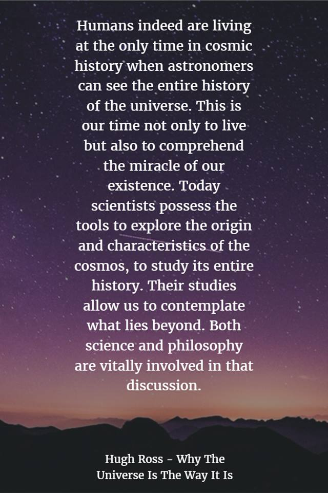 Graphic Quote: Fine Tuned Universe, Hugh Ross