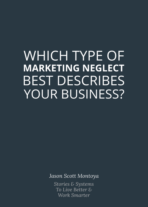 Graphic: Which Type of Marketing Neglect Best Describes Your Business?