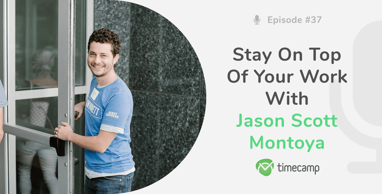 Jason Montoya Timecamp podcast interview