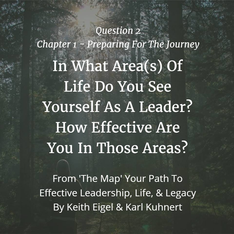 where are you a leader in your life