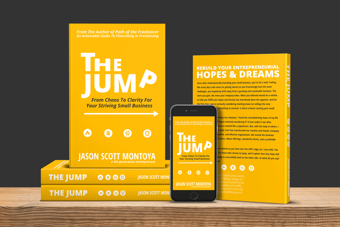 the jump book for stuck small business owners