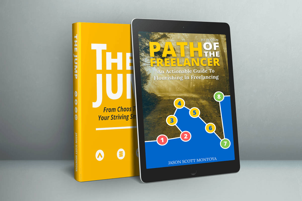 book combo: jump and path of the freelancer