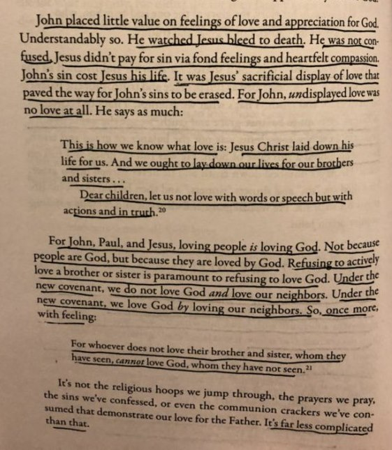 Commentary On Andy Stanley's Book, Irresistible: Reclaiming