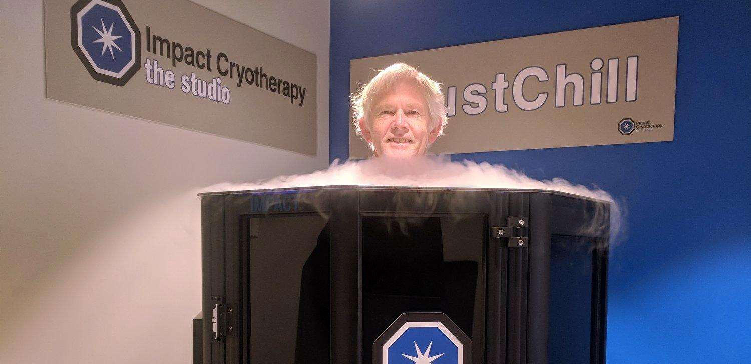 Don Neder in cryotherapy