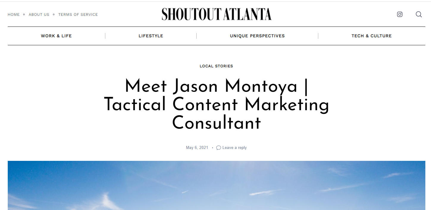 Featured on Shoutout Atlanta: How My Arizona Background Shaped My Atlanta Life Today