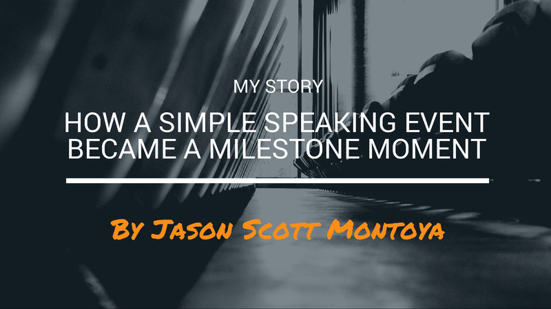 How A Simple Speaking Event Became A Milestone Moment