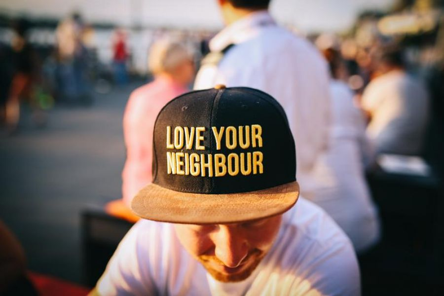 Love Your Neighbor Hat - Church